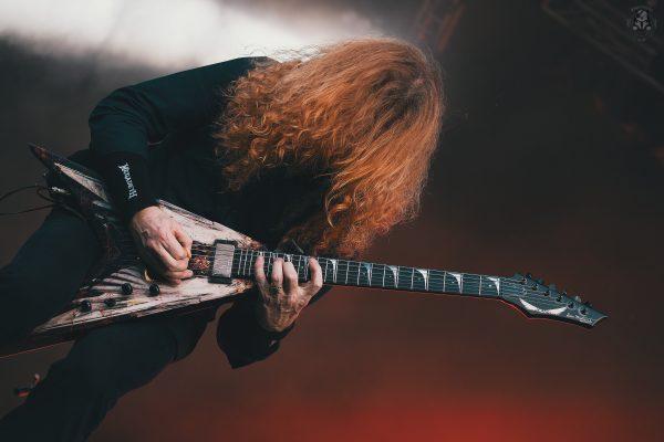 Megadeth-Dave Mustaine. Wacken 2014.